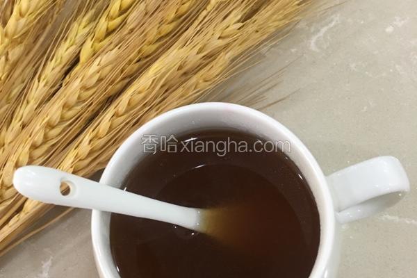麦芽糖姜茶