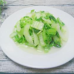 清炒长白菜