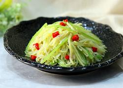 小芹菜炒土豆丝