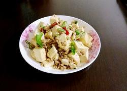 肉末炒北豆腐