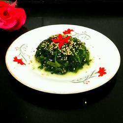 芝麻菠菜的做法[图]