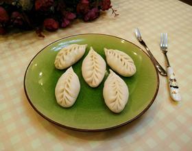 柳叶饺子的包法
