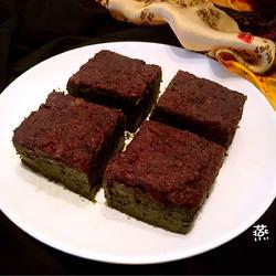红豆沙抹茶甜点