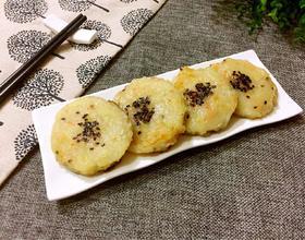 土豆莲藕饼