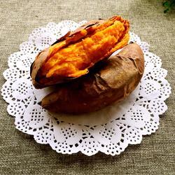 烤箱烤红薯