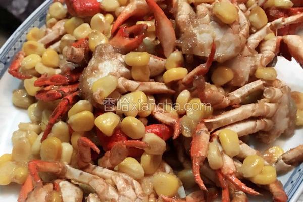 金黄玉米蟹