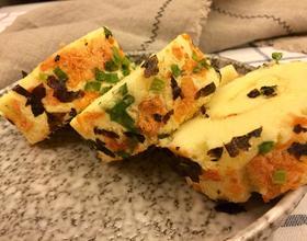 香葱海苔肉松蛋糕卷