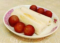 香蕉土司卷