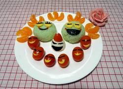 #圣诞节#开心小青蛙饭团
