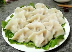 芹菜鲜肉饺子