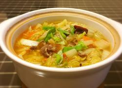 砂锅白菜肥牛卷