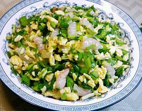 韭菜鸡蛋虾仁饺子馅