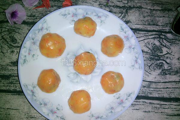萝卜玉米肉丸子