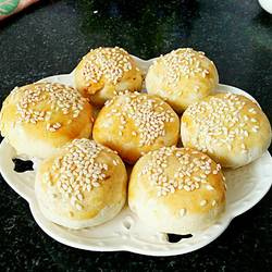 板栗肉松饼