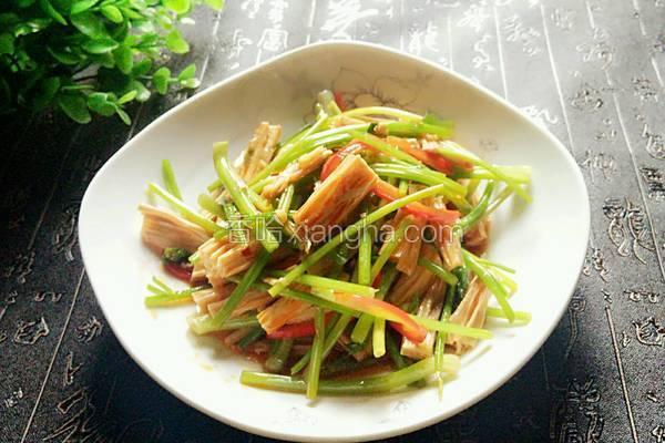 红油芹菜腐竹