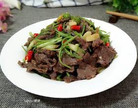 小炒馿肉[图]