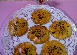 蛋香芝麻酥