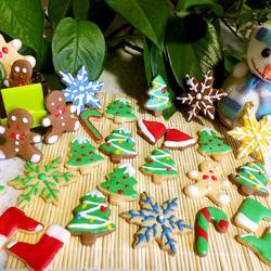 圣诞节饼干(蛋清糖霜方法)