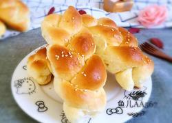 牛奶小辫面包