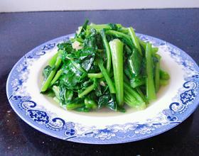 清炒芥蓝菜
