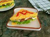 黑胡椒肉排三明治的做法[图]