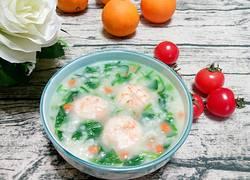 菠菜虾仁粥
