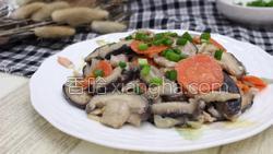 香菇炒肉的做法图解39