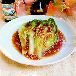 浓汁玻璃生菜(简捷无味精版)