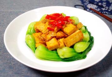 黄豆酱烧豆腐