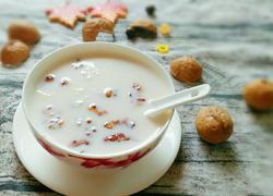 核桃牛奶鸡蛋汤