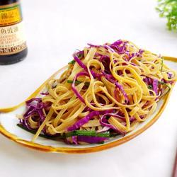 紫甘蓝拌豆腐