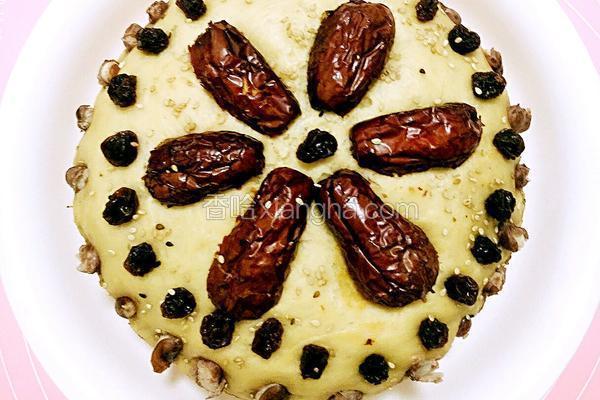 黑糖燕麦枣糕