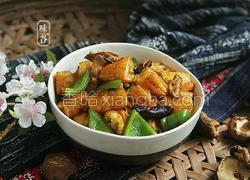 青椒炒油条