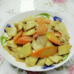 小炒白灵菇