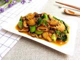 香菇虾皮炒油菜的做法[图]