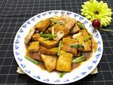 辣黄豆酱炒豆腐的做法[图]