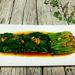 凉拌菠菜的做法[图]