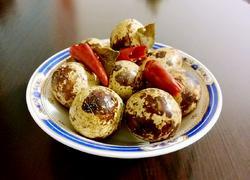 五香黄豆酱鹌鹑蛋