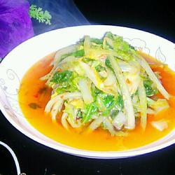 蒜蓉辣椒酱炒白菜的做法[图]