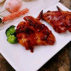 蒜蓉辣酱烤鸡翅