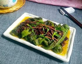 蚝油虎皮海椒