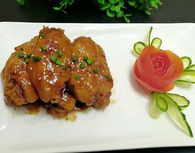 蚝油蜂蜜鸡翅