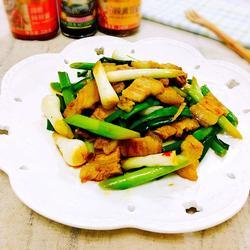 香蒜辣炒回锅肉