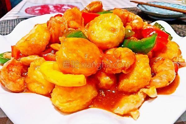 日本三鲜豆腐_三鲜日本豆腐的做法_菜谱_香哈网
