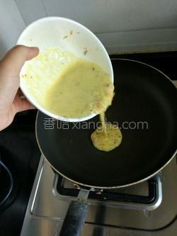 bb辅食()鸡蛋饼的做法图解4