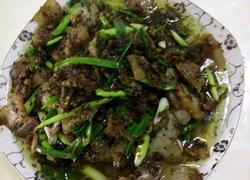 咸菜蒜苗回锅肉
