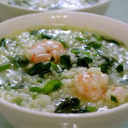 虾仁豌豆粥