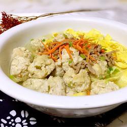 肉丸子蛋燕汤的做法[图]