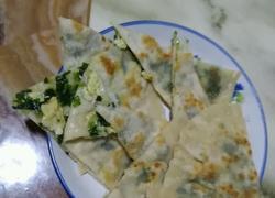 韭菜鸡蛋烙饼