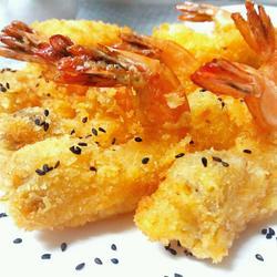 黄金凤尾虾的做法[图]